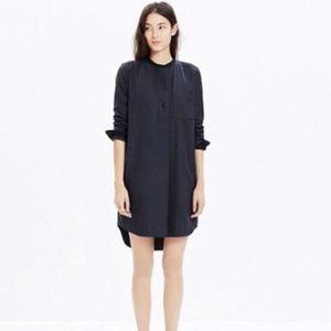 Madewell Wool Shirtdress